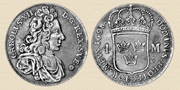 4 Marks 1698. Silver.