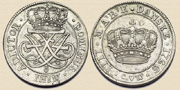 4 Marks 1726. Silver.